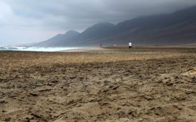 Дикий пляж Кофете на острове Фуэртевентура