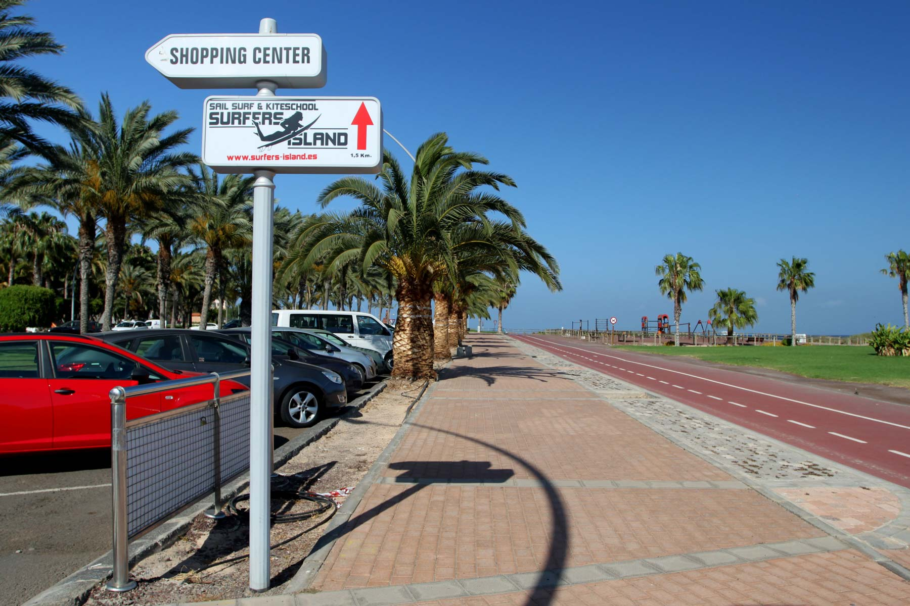 Беговая дорожка вдоль пляжа Маттораль