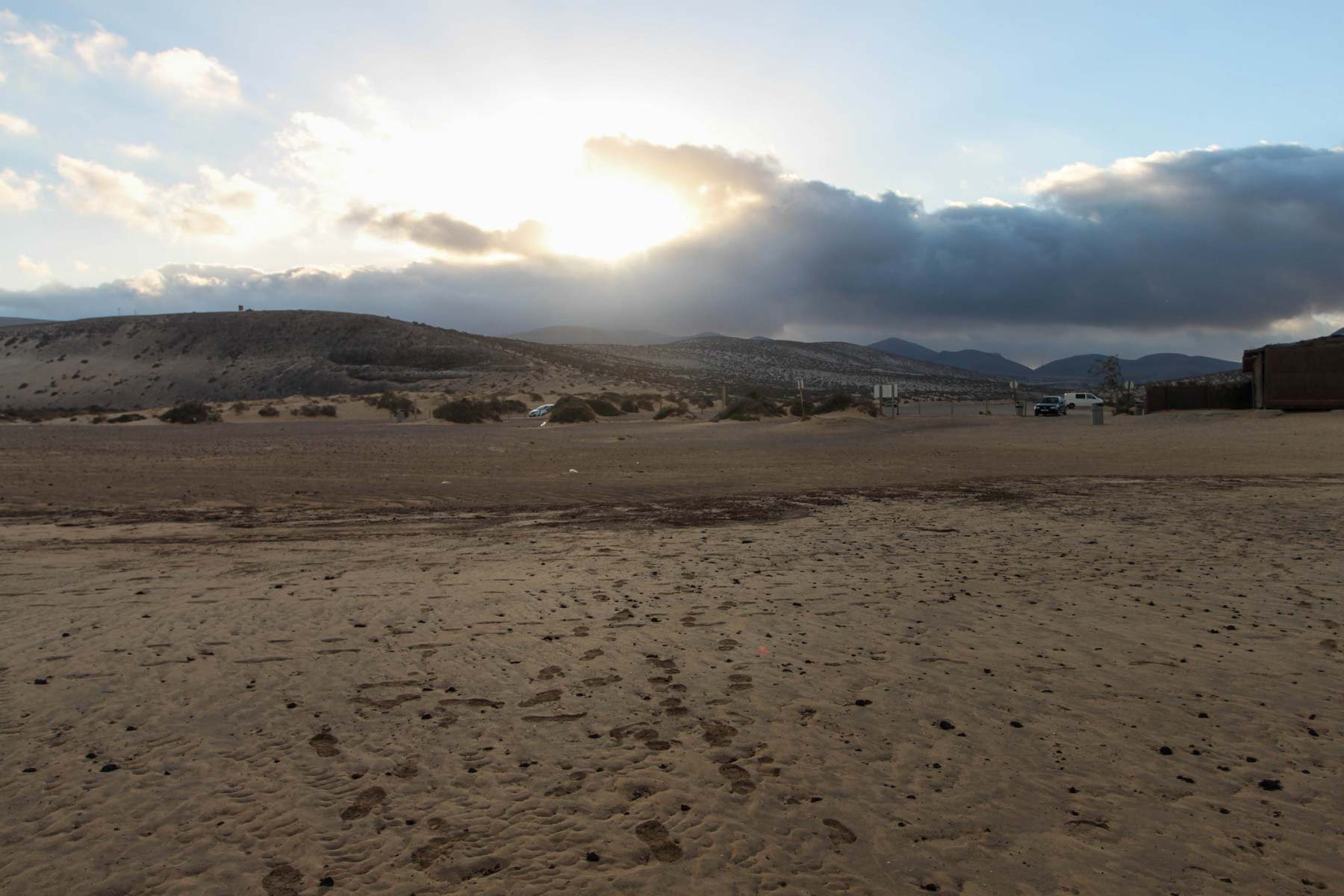 Закат на Коста Кальма (Costa Calma)