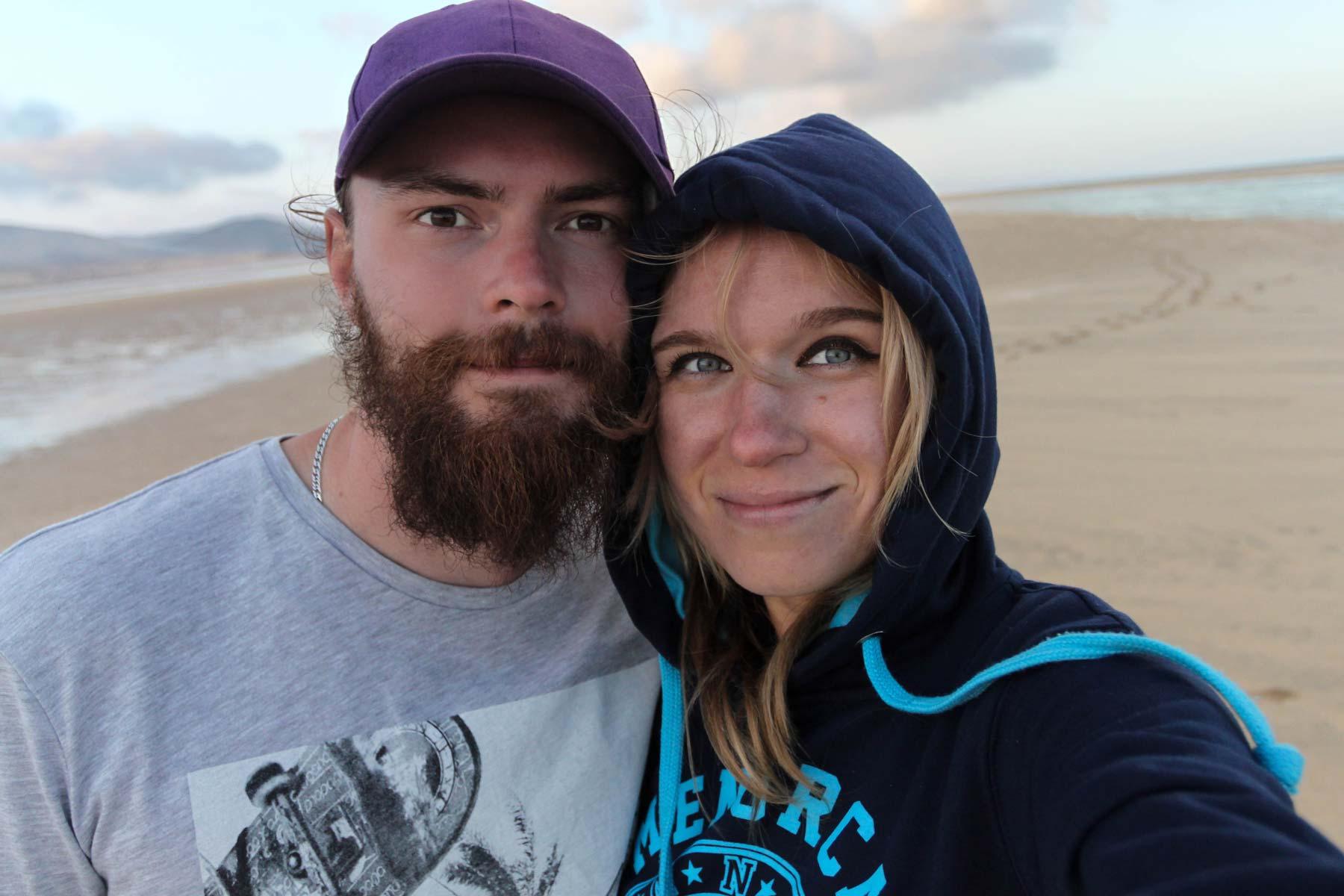 Мы на пляже Фуэртевентуры