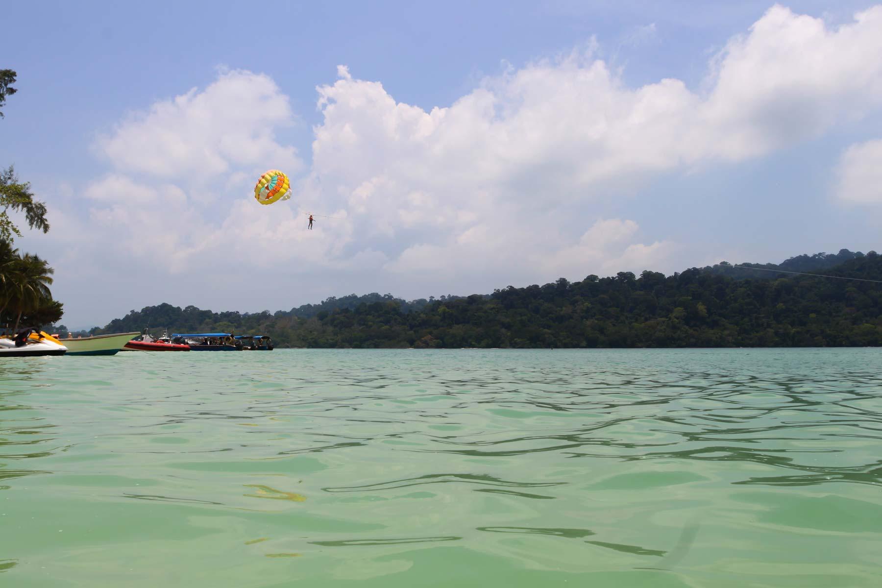 Водные виды спорта на Singa Besar