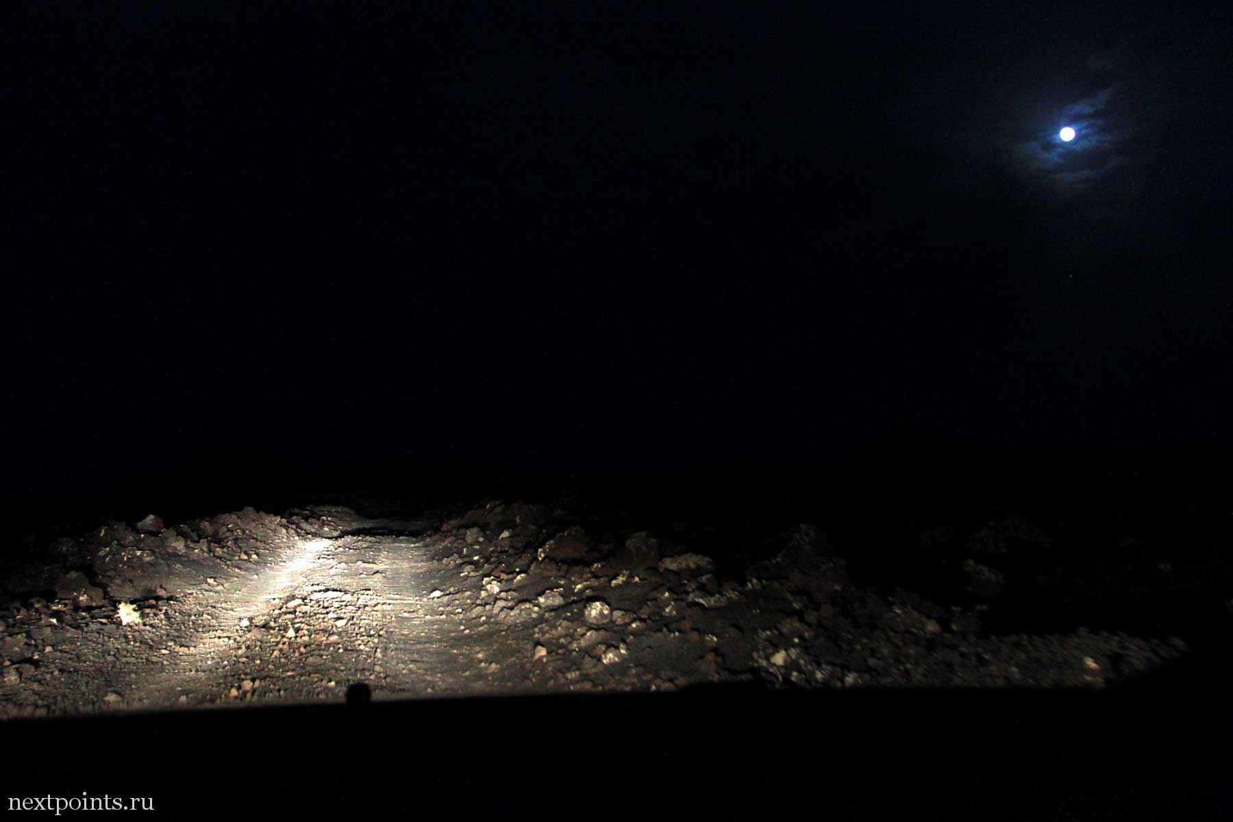 Ночные скитания на Лансароте