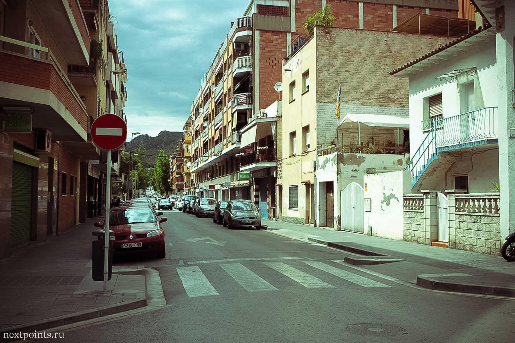 Улица в Кастельдефельсе
