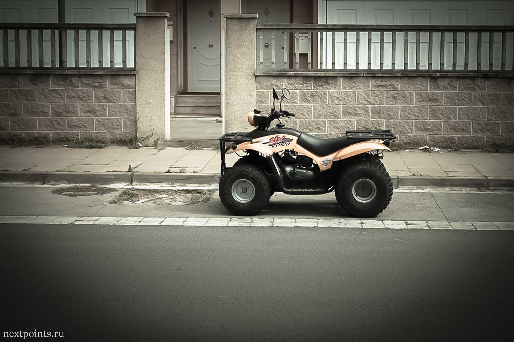 Квадроцикл в Кастельдефельсе