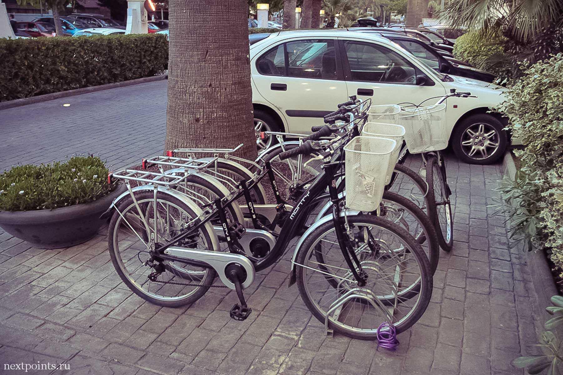 Велосипеды с багажной корзиной