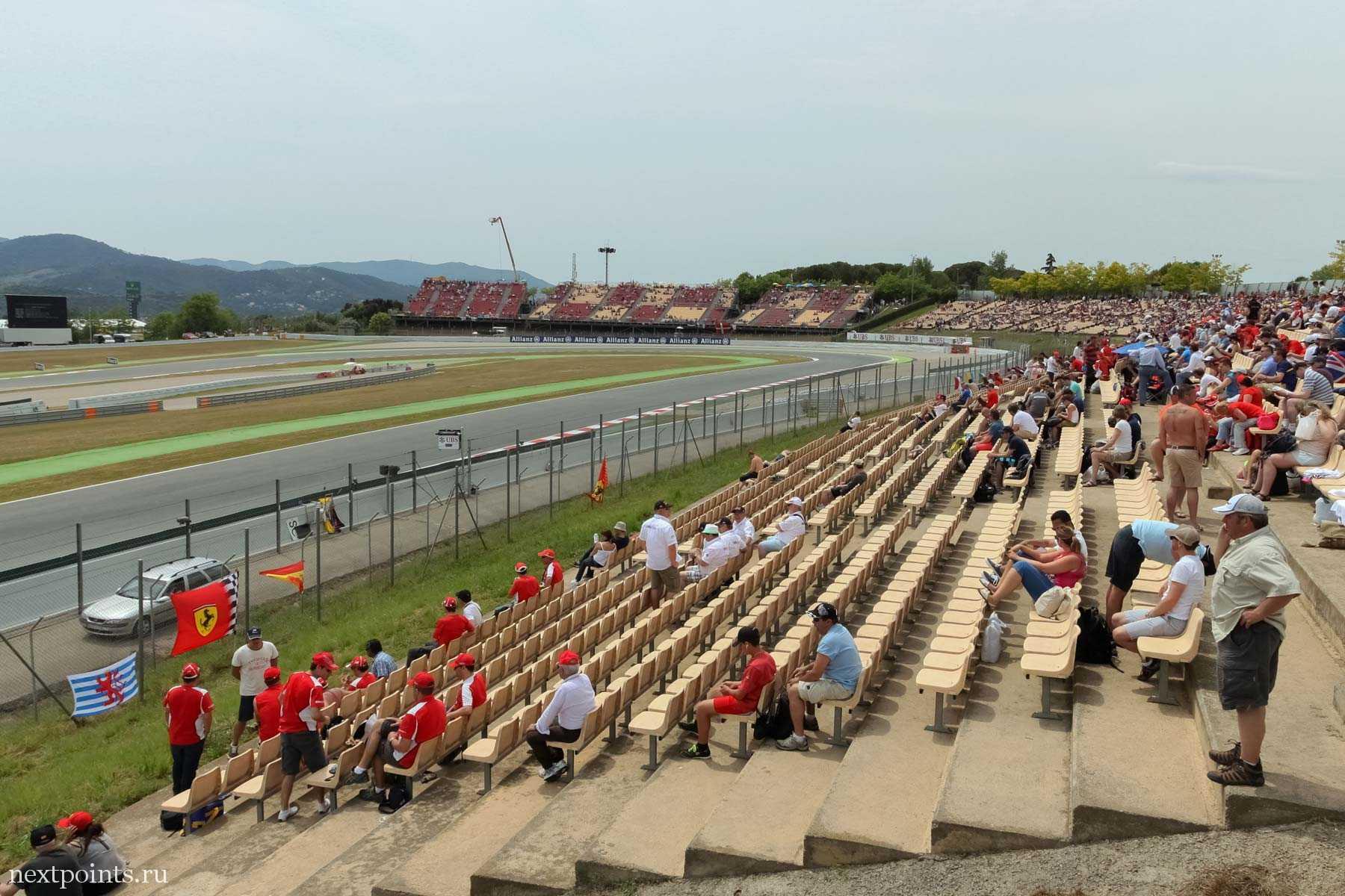 Трибуна H Circuit de Barcelona-Catalunya