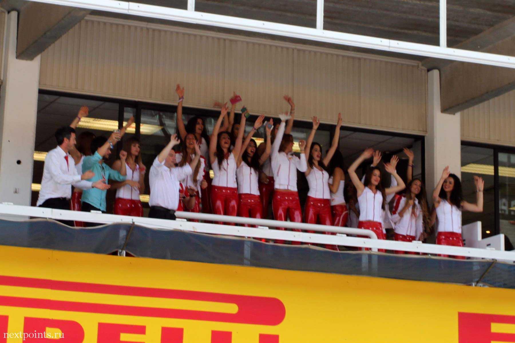 Spain girls в красных штанишках