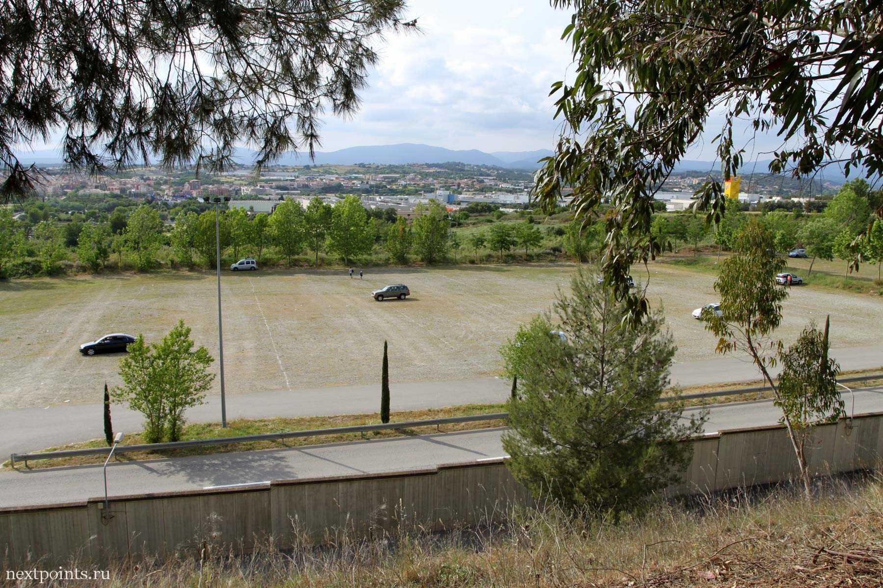 Виды с трассы в Испании