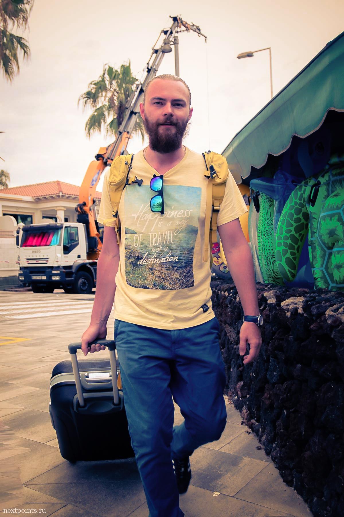 Уезжаем с острова Тенерифе в Кастельдефельс