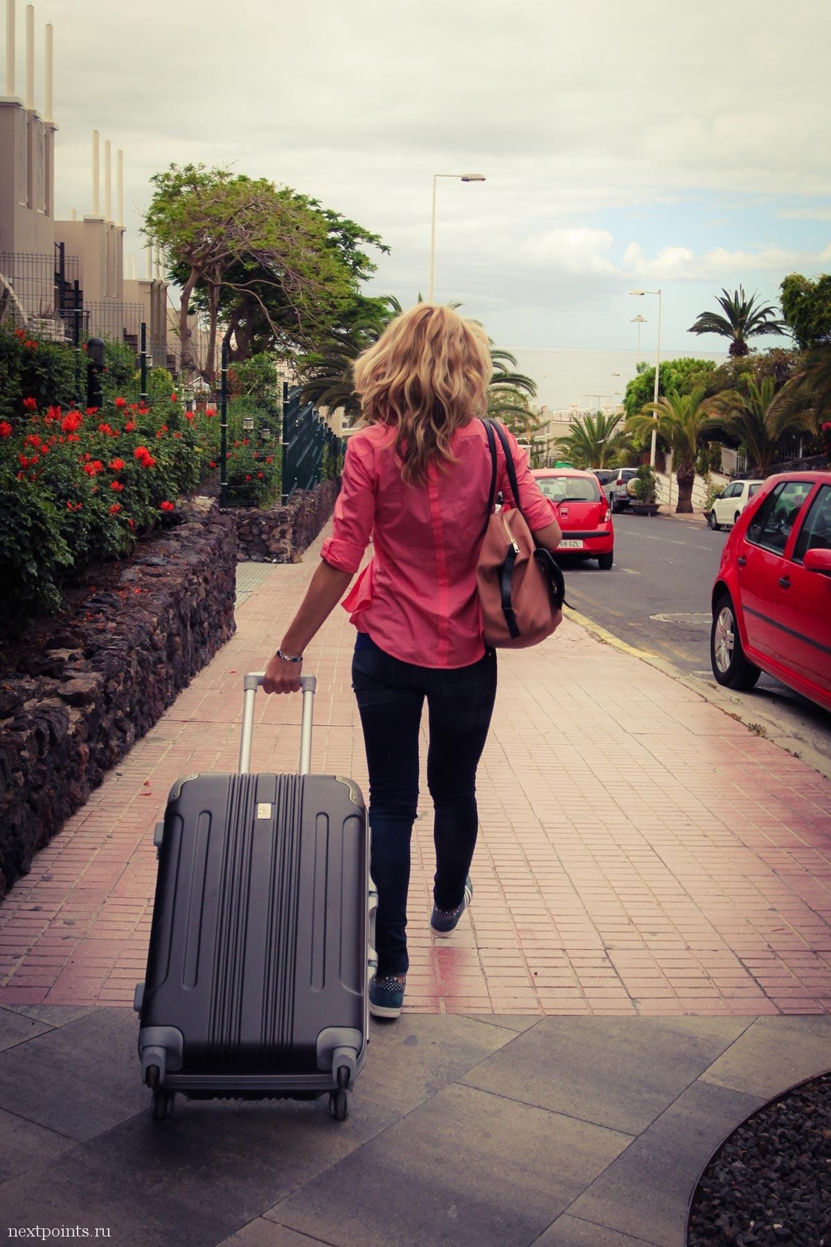 С чемоданами на выход в Кастельдефельс