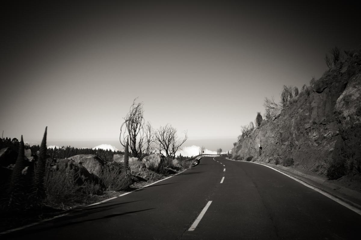 Черно-белая дорога к Тейде
