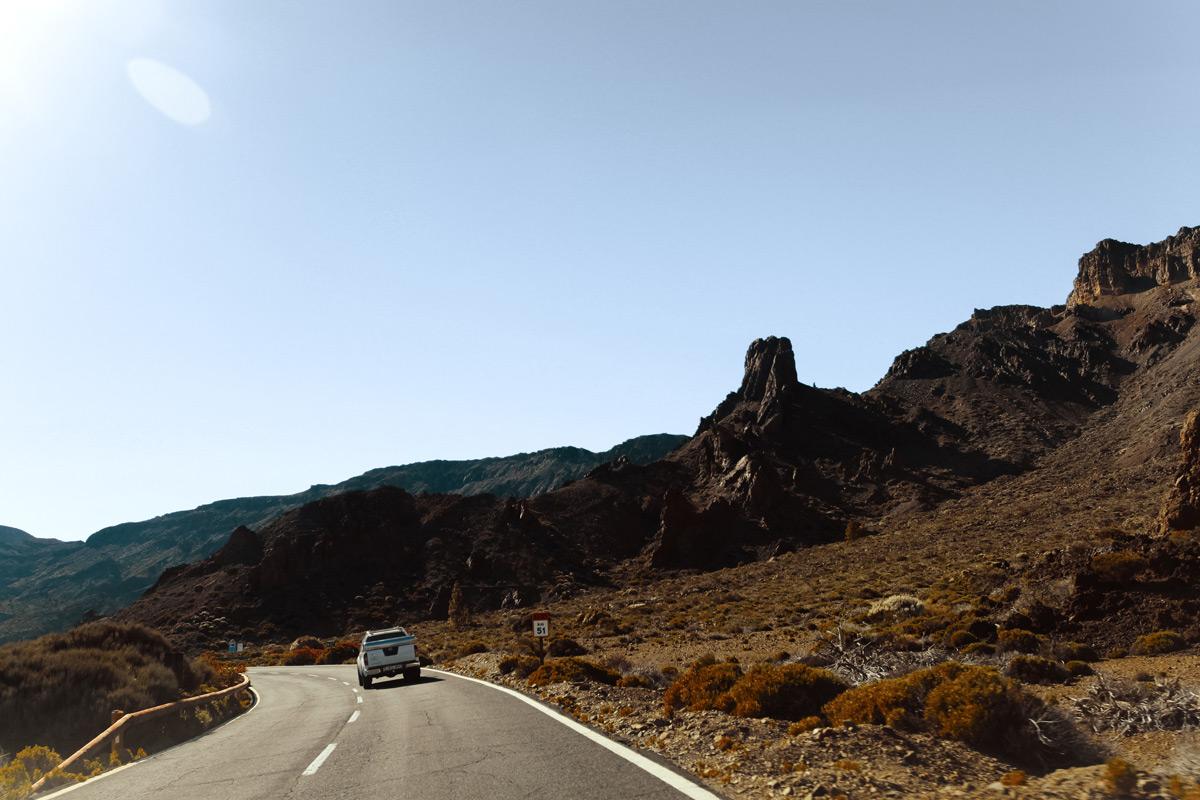 Инопланетные виды кальдеры вулкана Тейде