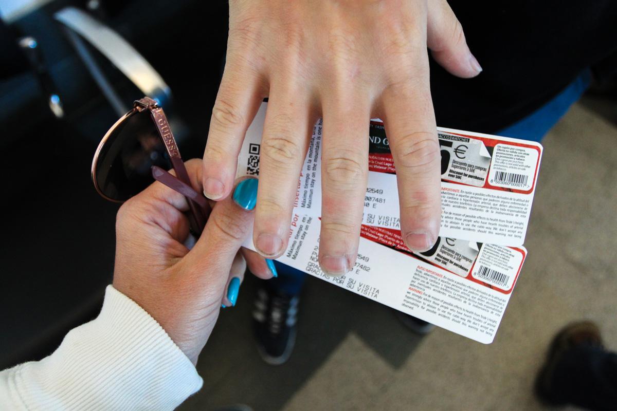 Билеты на фуникулер на вулкан Тейде