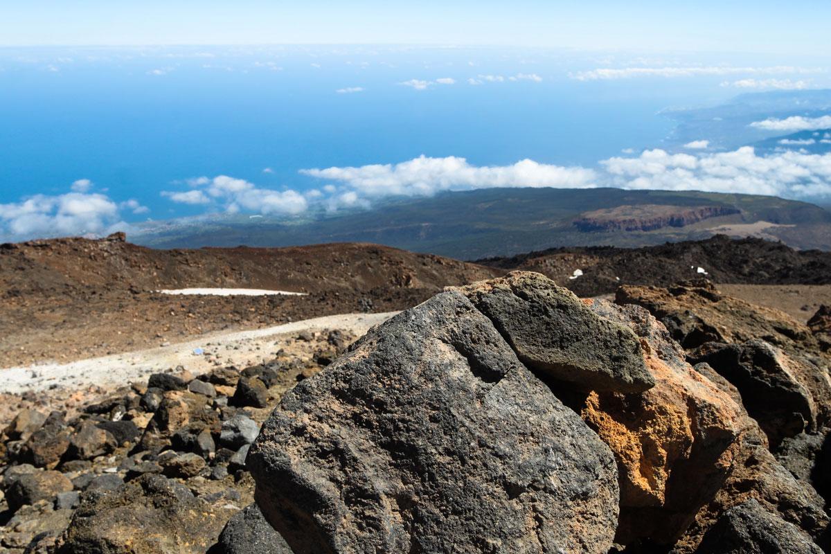 Облака остались где-то внизу острова Тенерифе