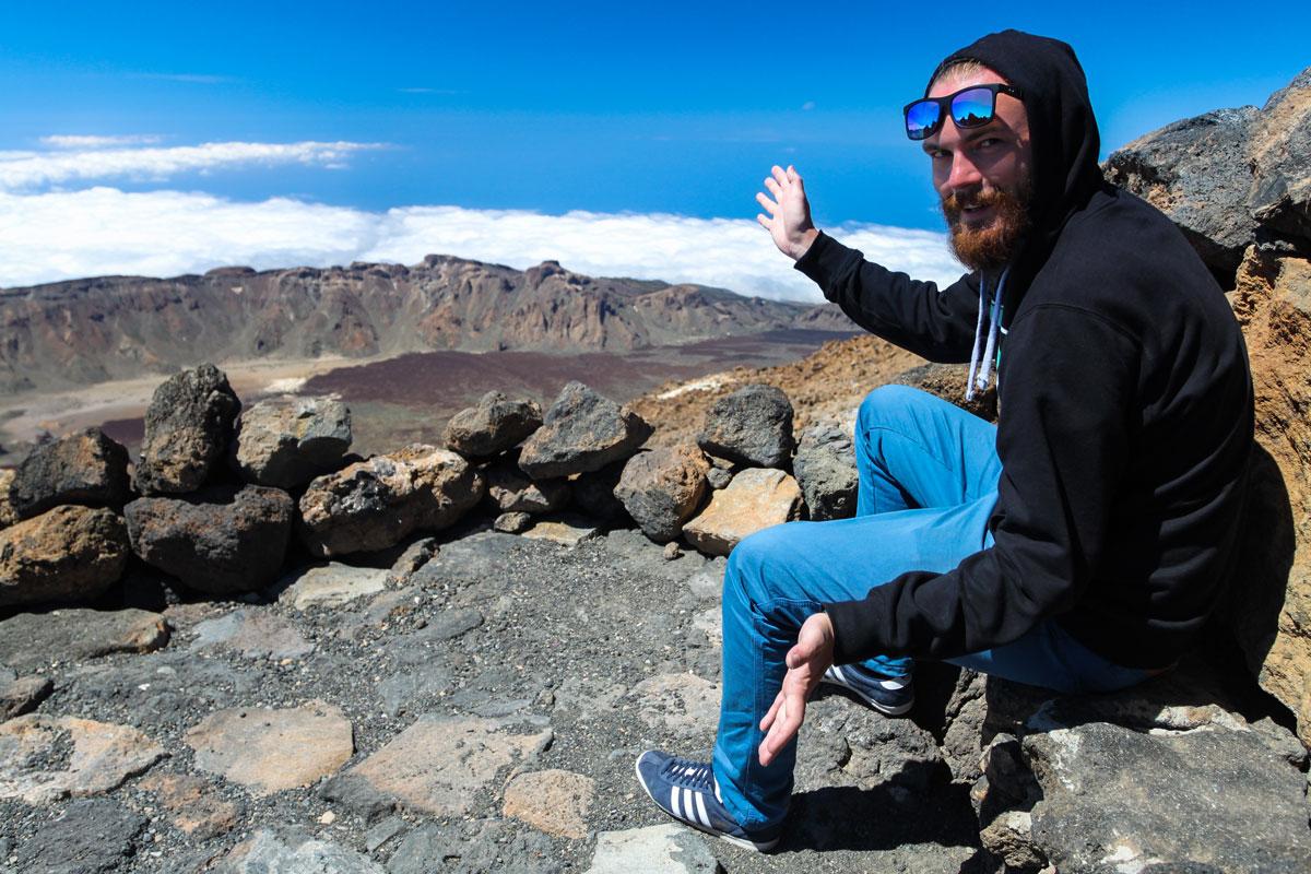 Вот она, кальдера вулкана Тейде