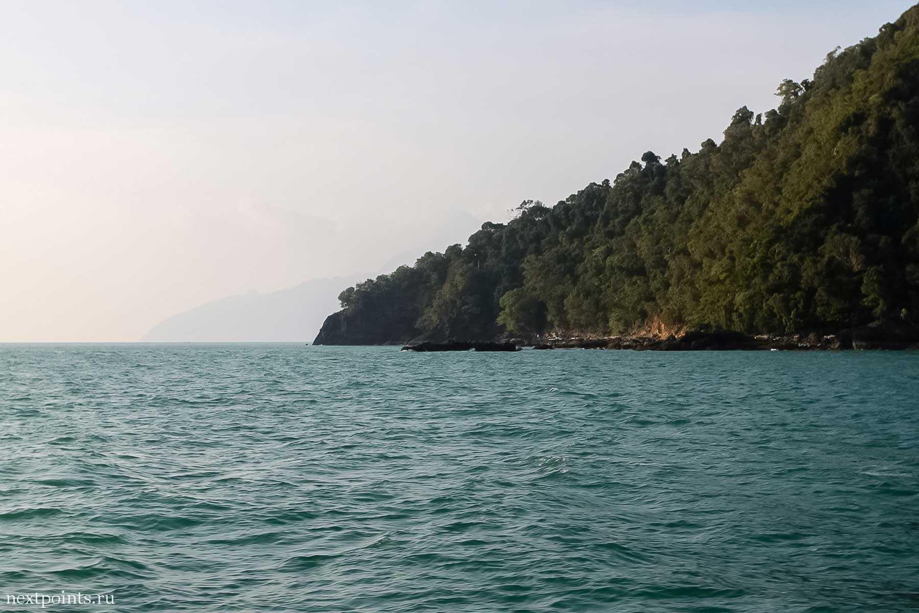 Острова в дымке