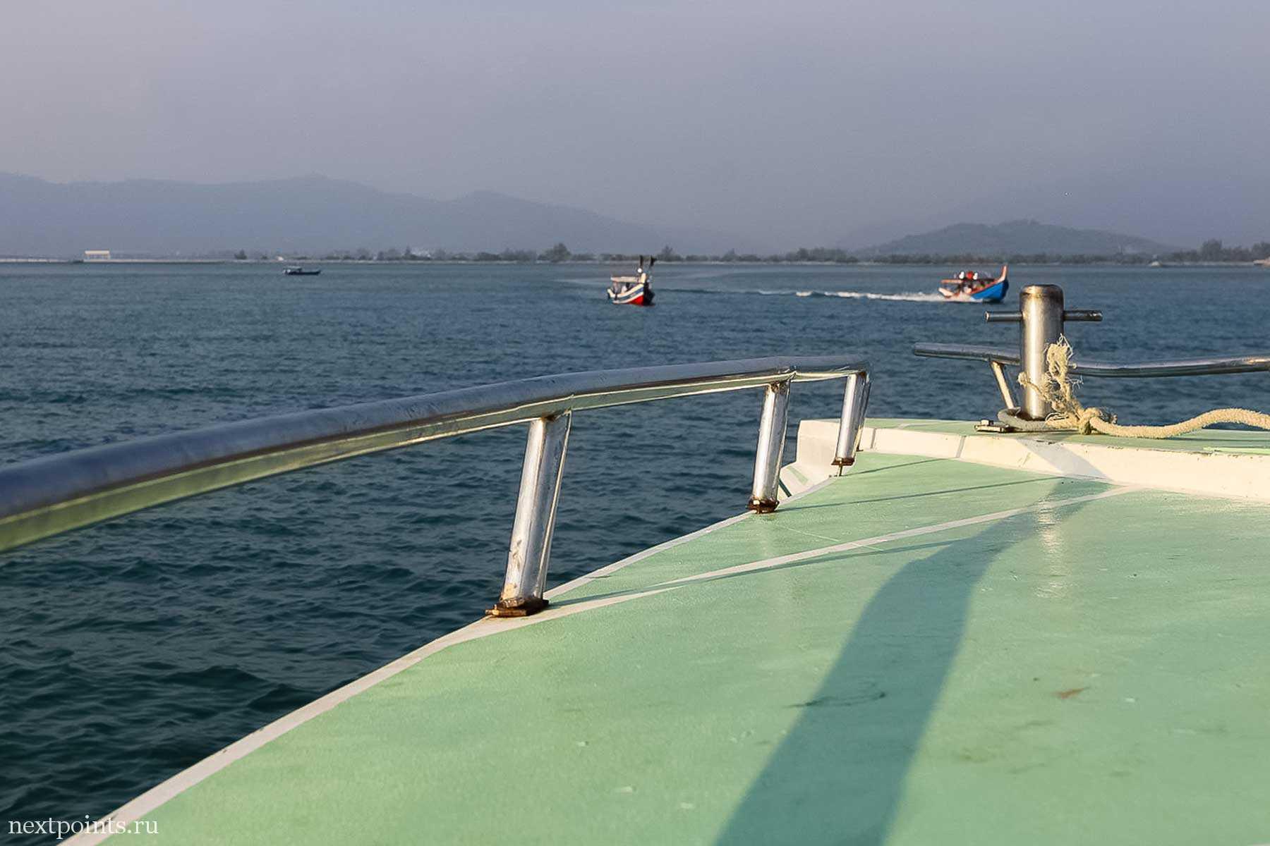 Лодка на остров Лангкави из Ко Липе