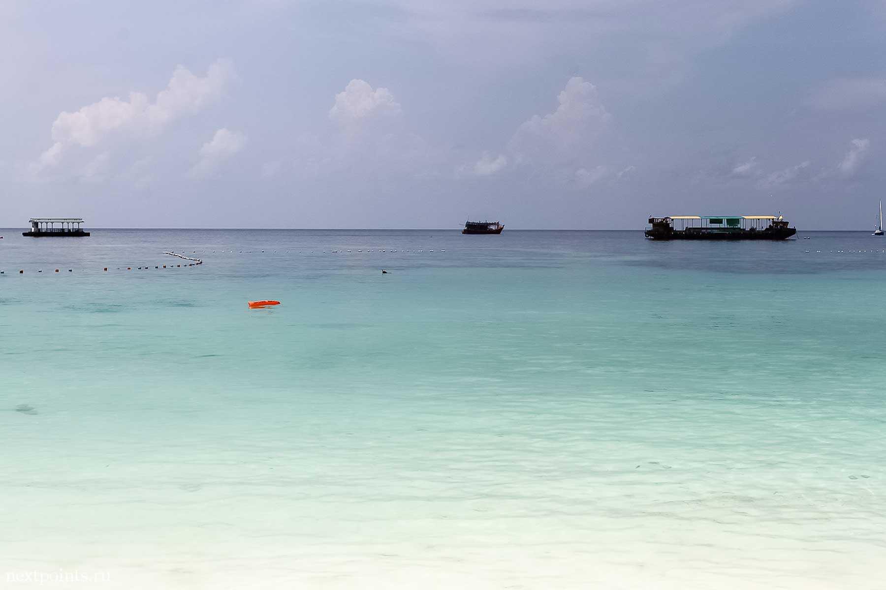 Пляж Pattaya на острове Ко Липе (Koh Lipe) в Таиланде
