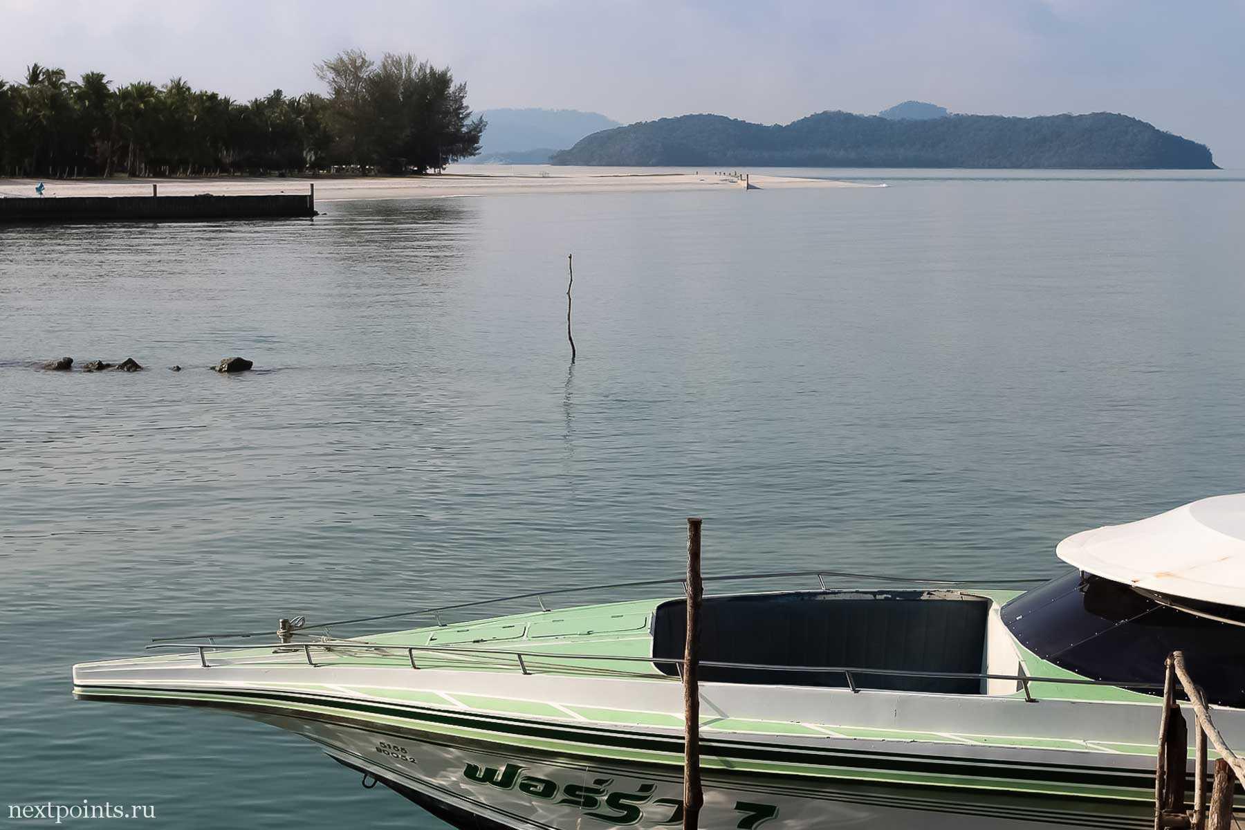 Скоро сядем в лодку Tigerline и поплывем на Ко Липе