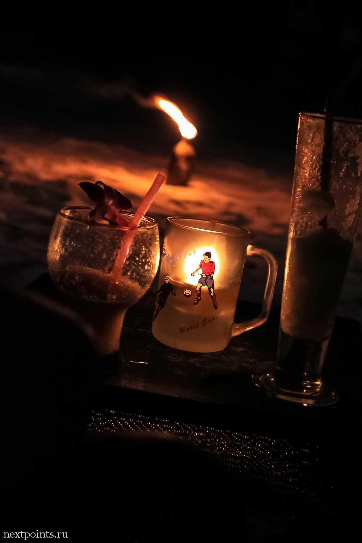 Релакс на пляже Паттая с тайскими напитками