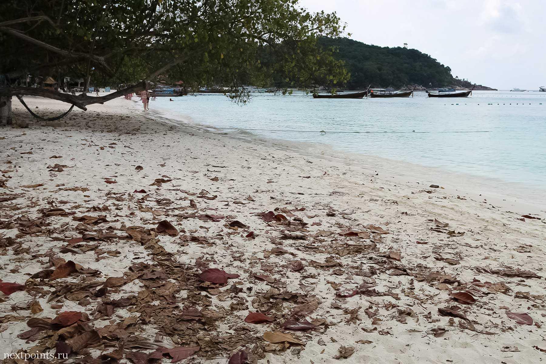 Пляж на Ко Липе