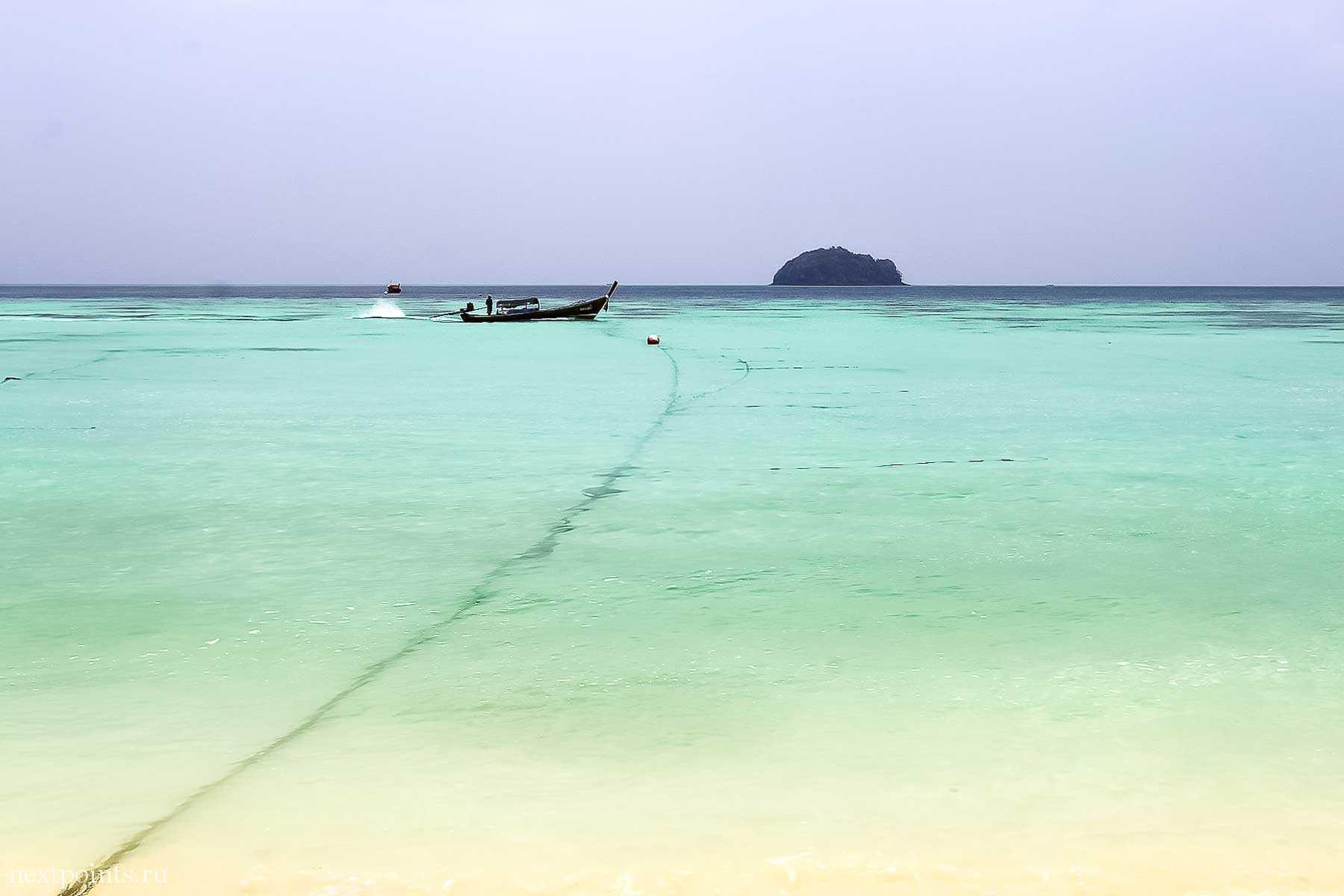 Море острова Ко Липе (Koh Lipe) в Таиланде