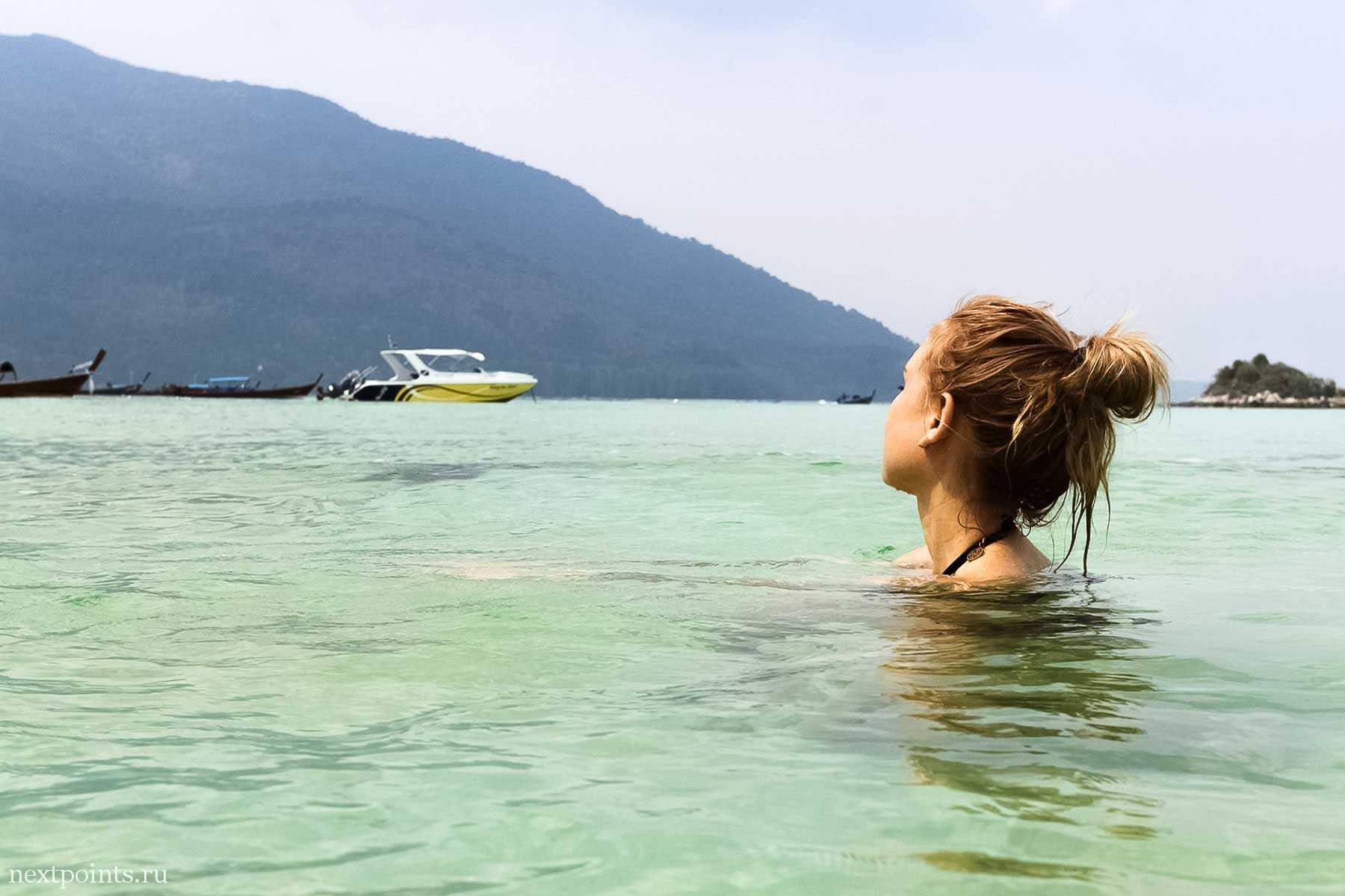 Смотрю на остров Ко Анданг рядом с Ко Липе