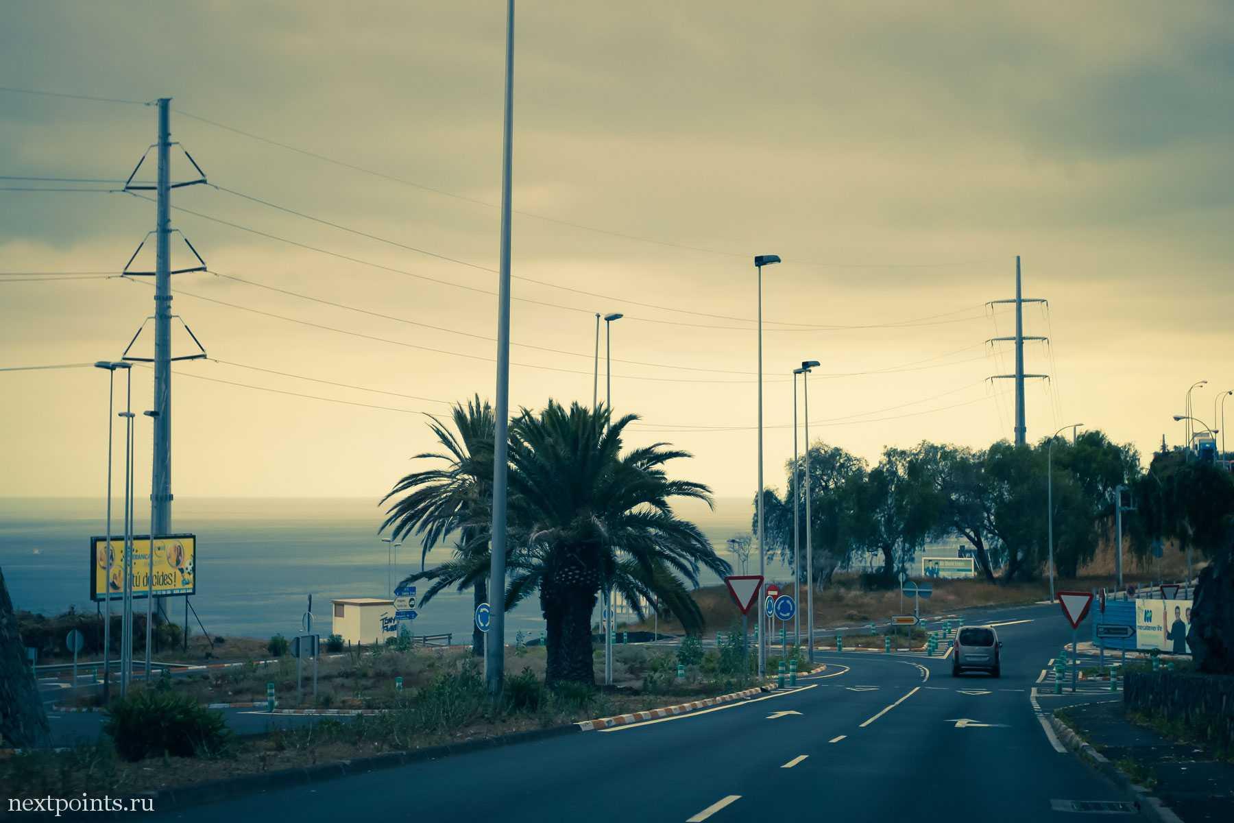 Закат на Тенерифе