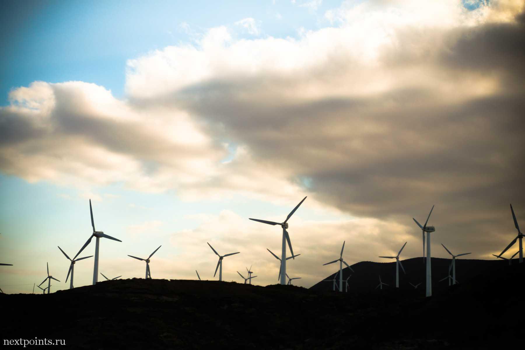 Ветряки на Тенерифе