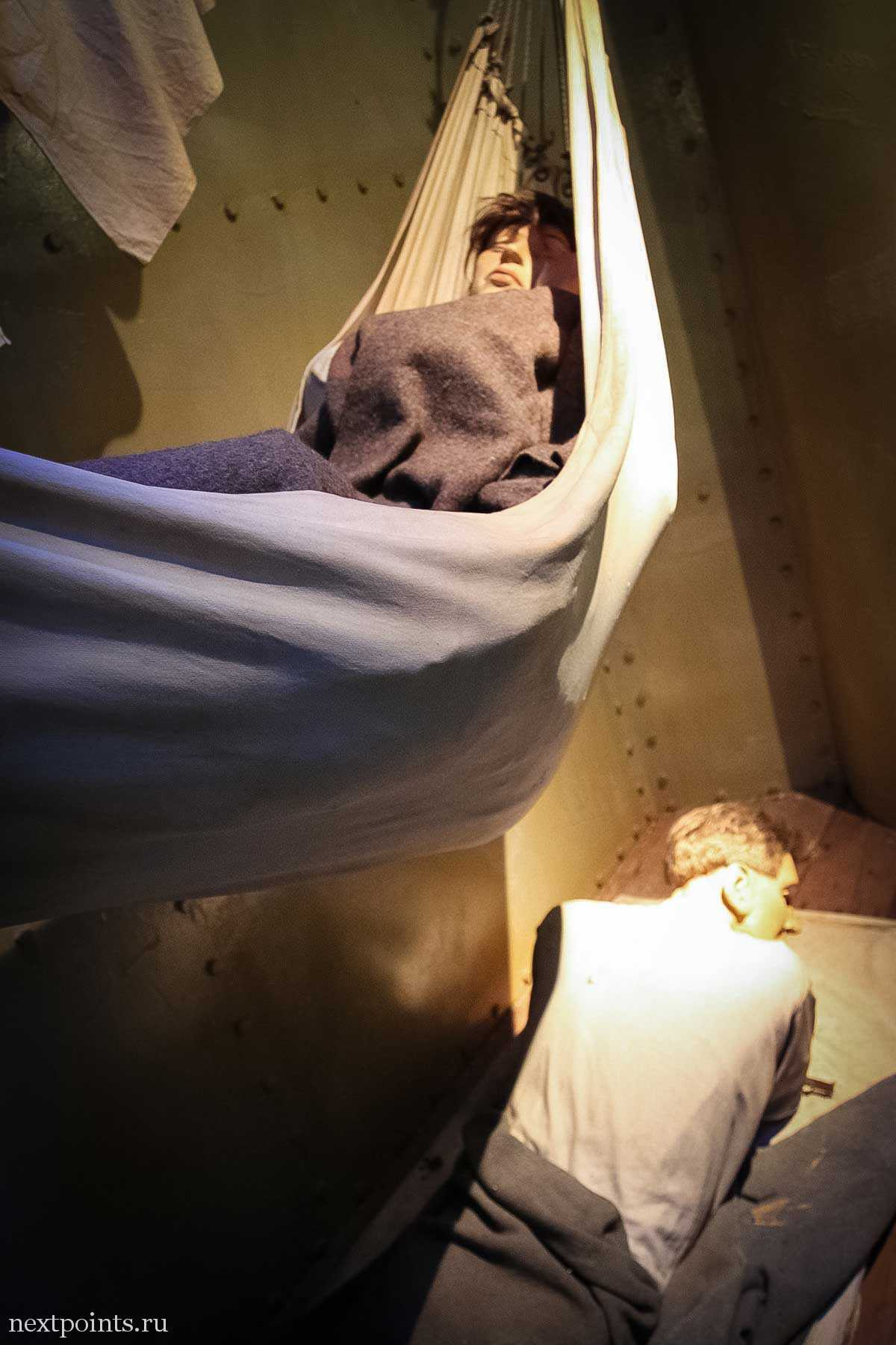 Ночевка солдат в Форте Силосо