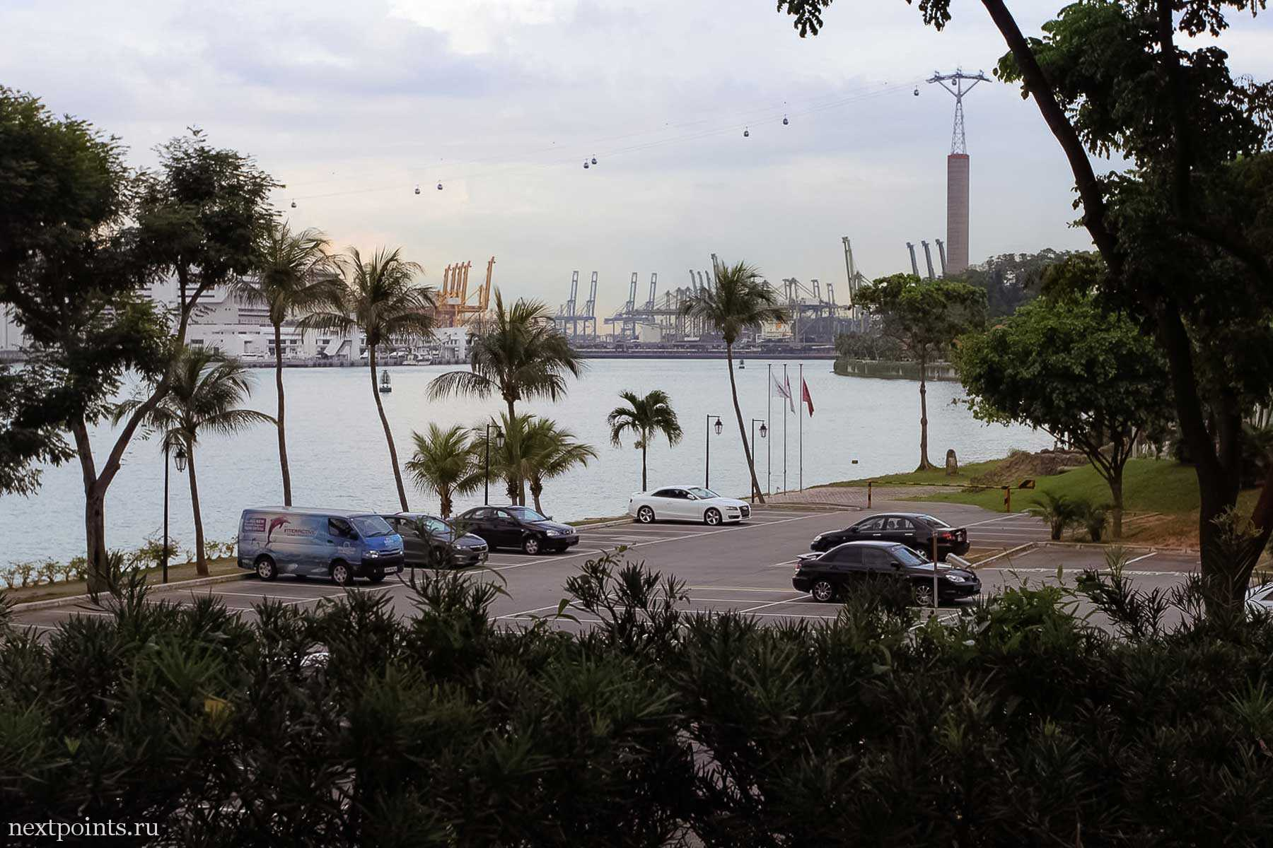 Фуникулеры из Сингапура на остров Силосо