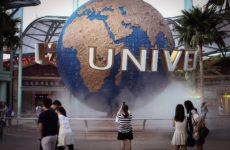 Лазерное шоу, Мерлион и Universal Studios на Сентозе