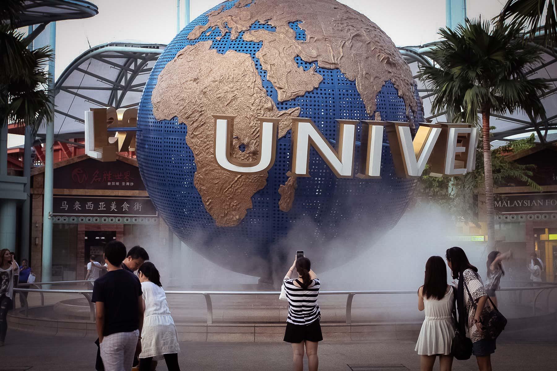 Шарик Universal Studios на Сентозе