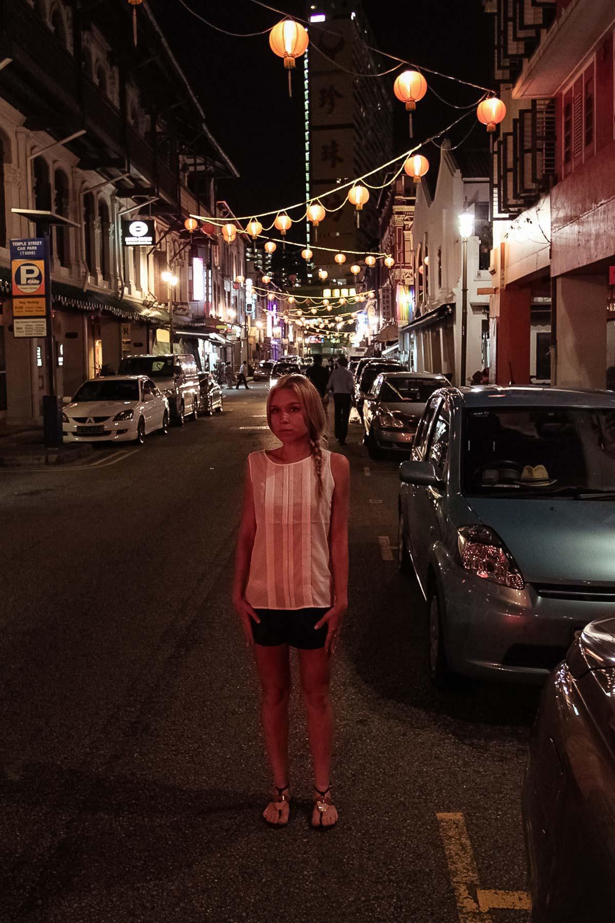 В китайском квартале Сингапура