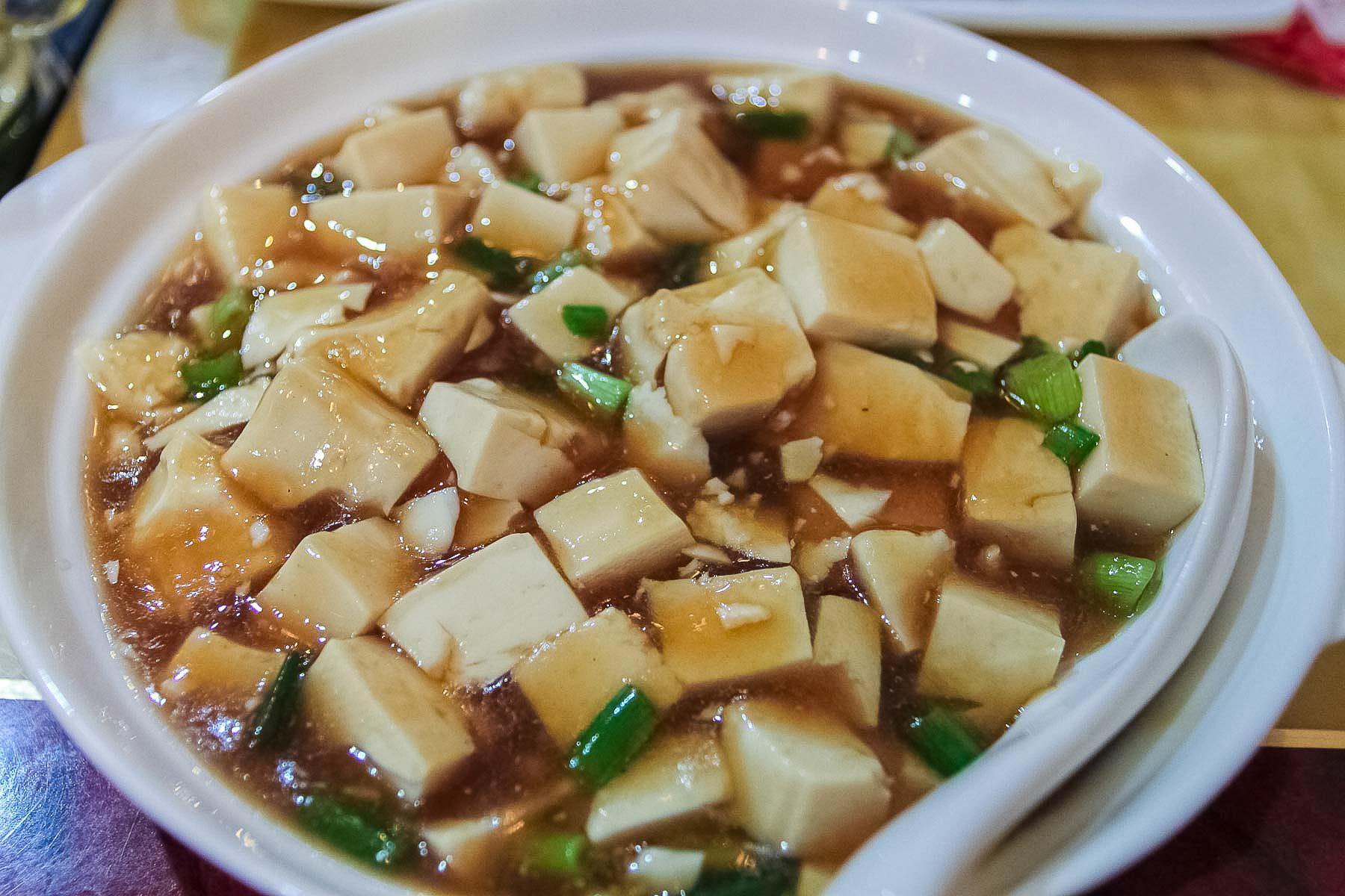 Тофу в соусе