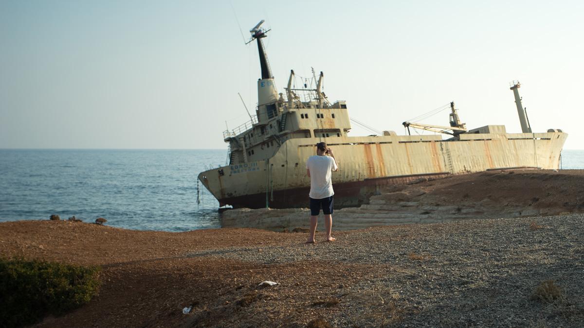 Заброшенный корабль Edro III