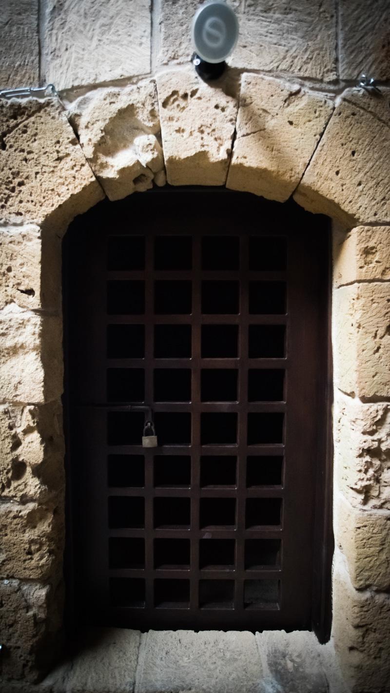 Дверь-клетка замка Medieval Fort