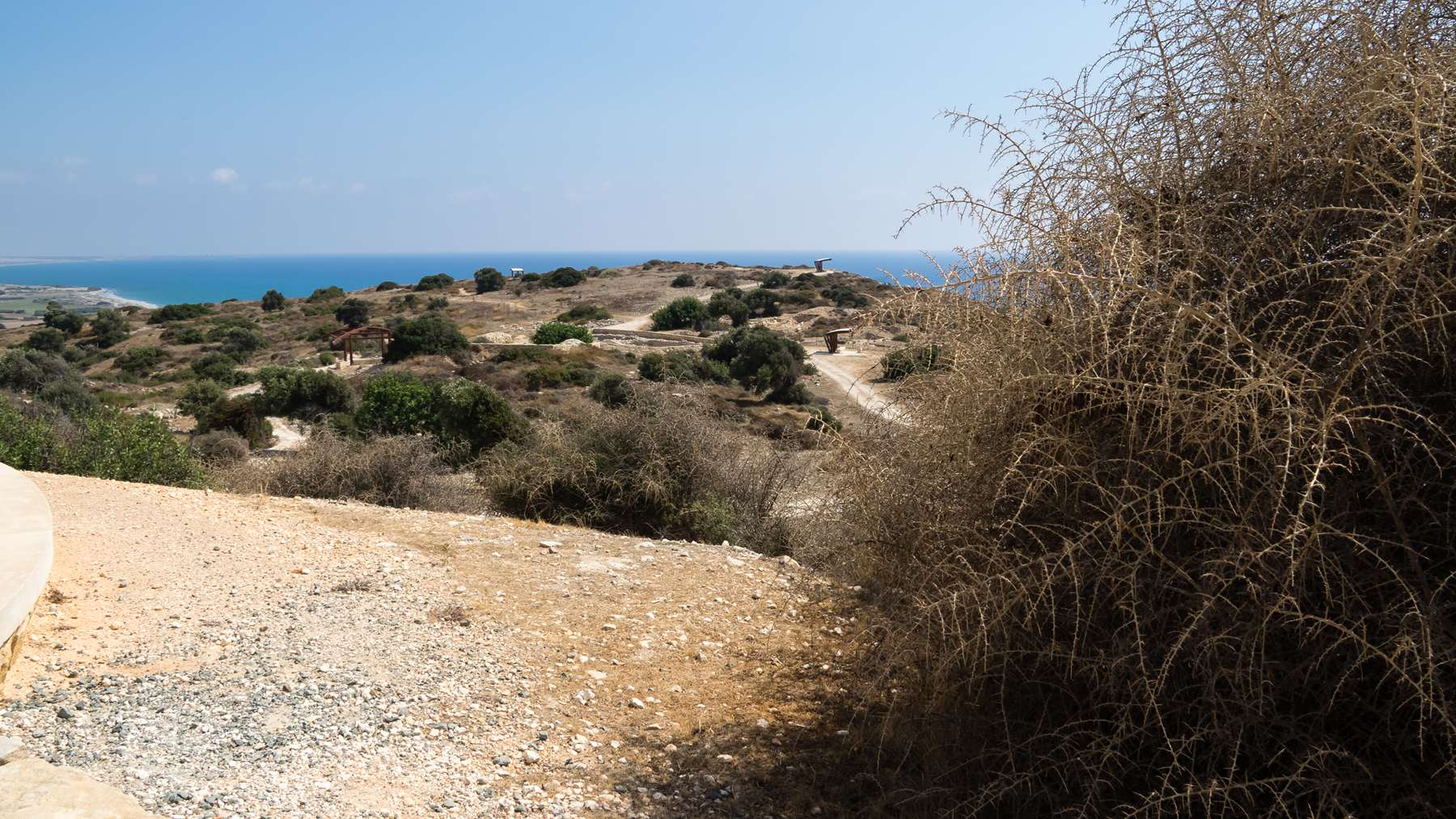 Вид на море с Куриона