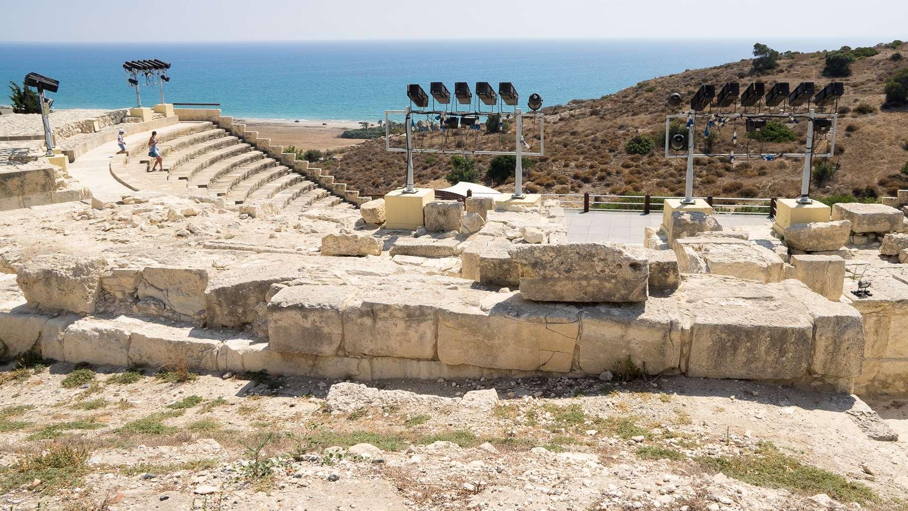Древне-греческий амфитеатр в Курионе