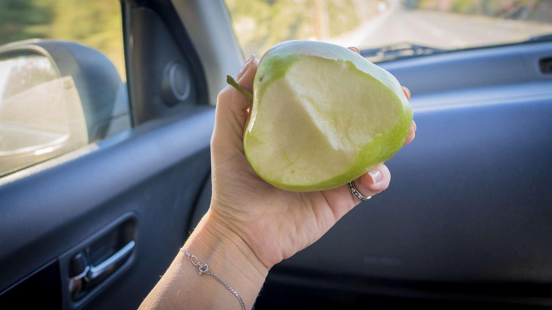 Откушенное яблоко