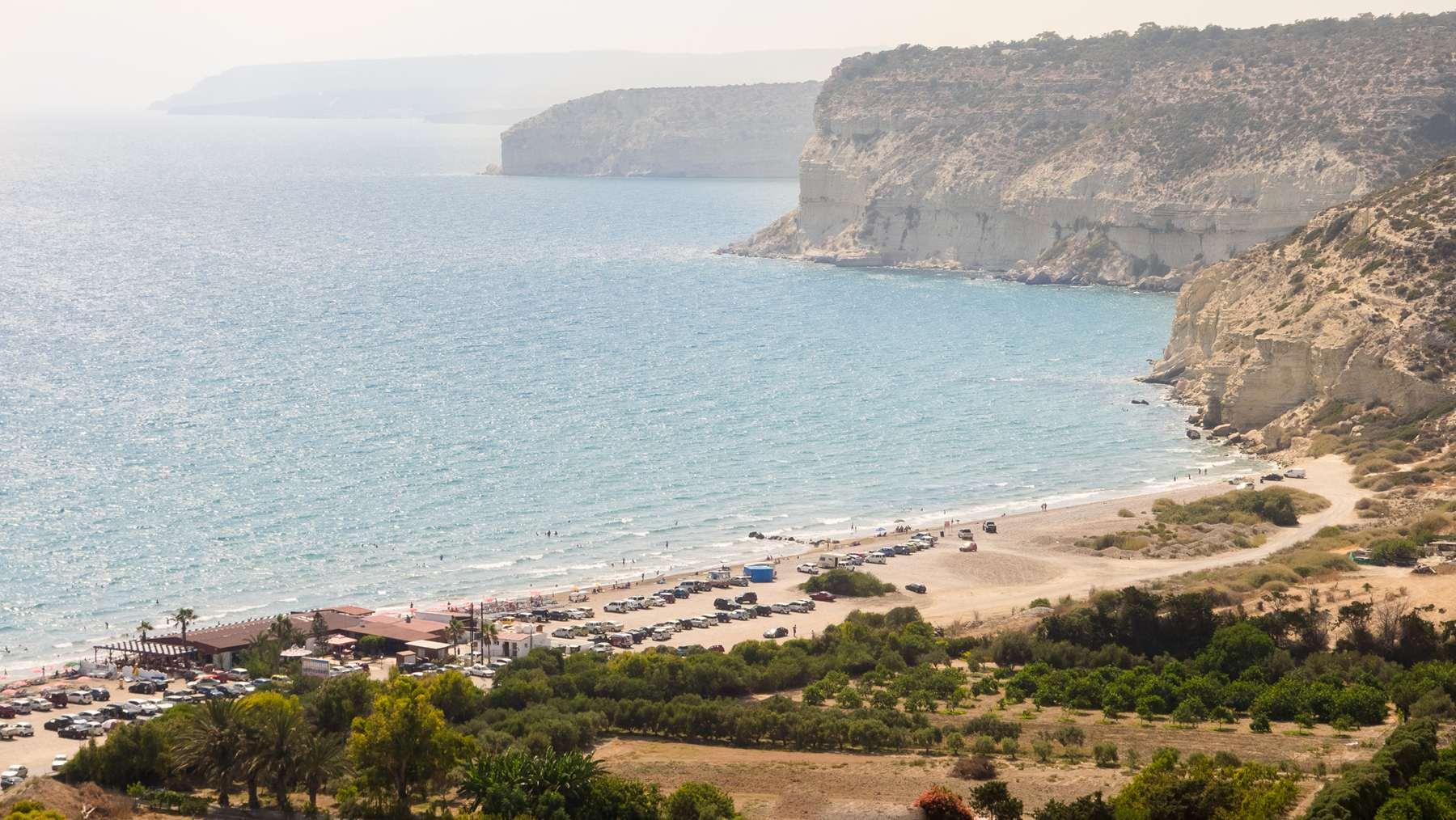 Пляж около Куриона (Coureon beach)