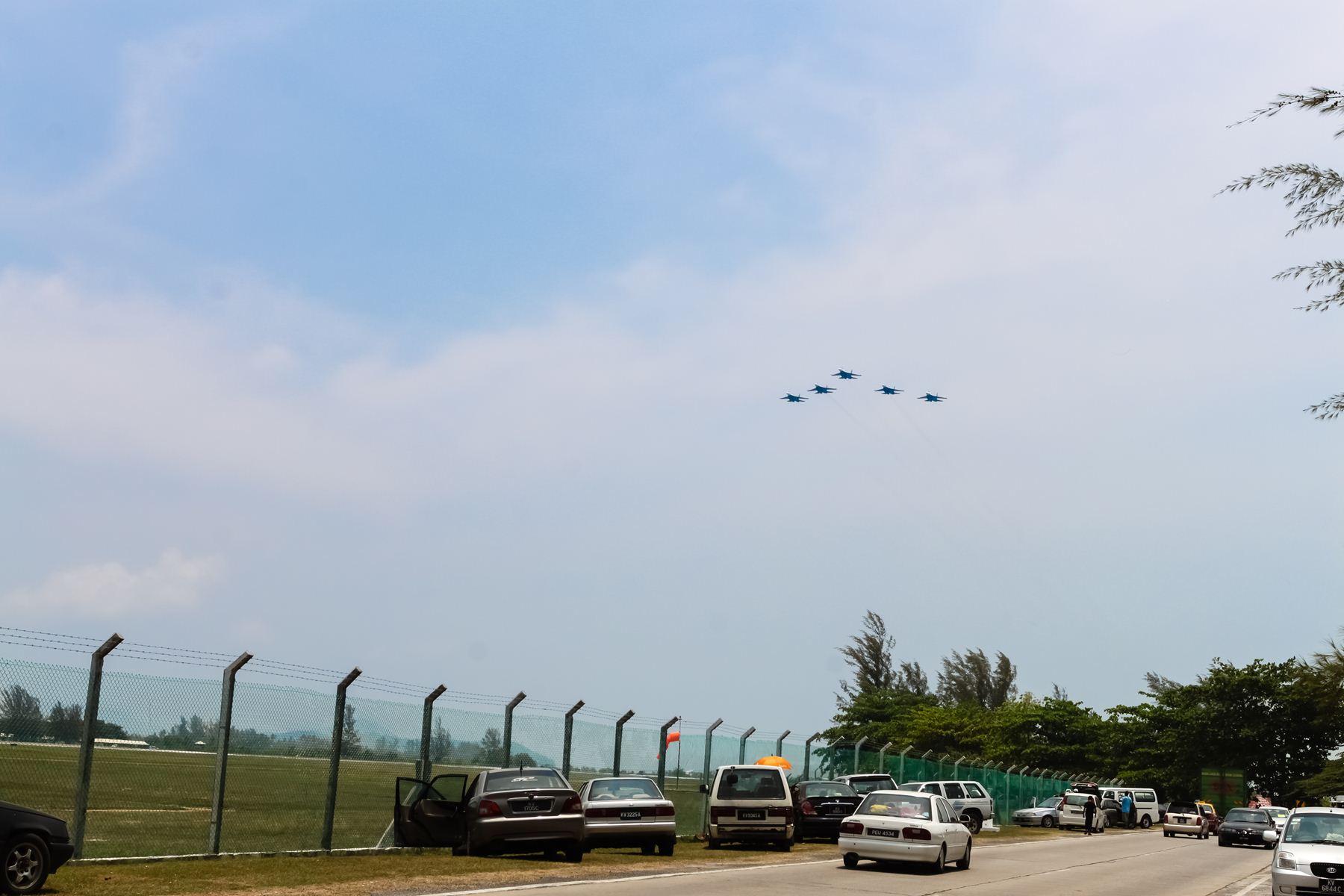 Парковка около аэропорта Лангкави