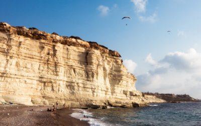 Живописный пляж в регионе Пафос