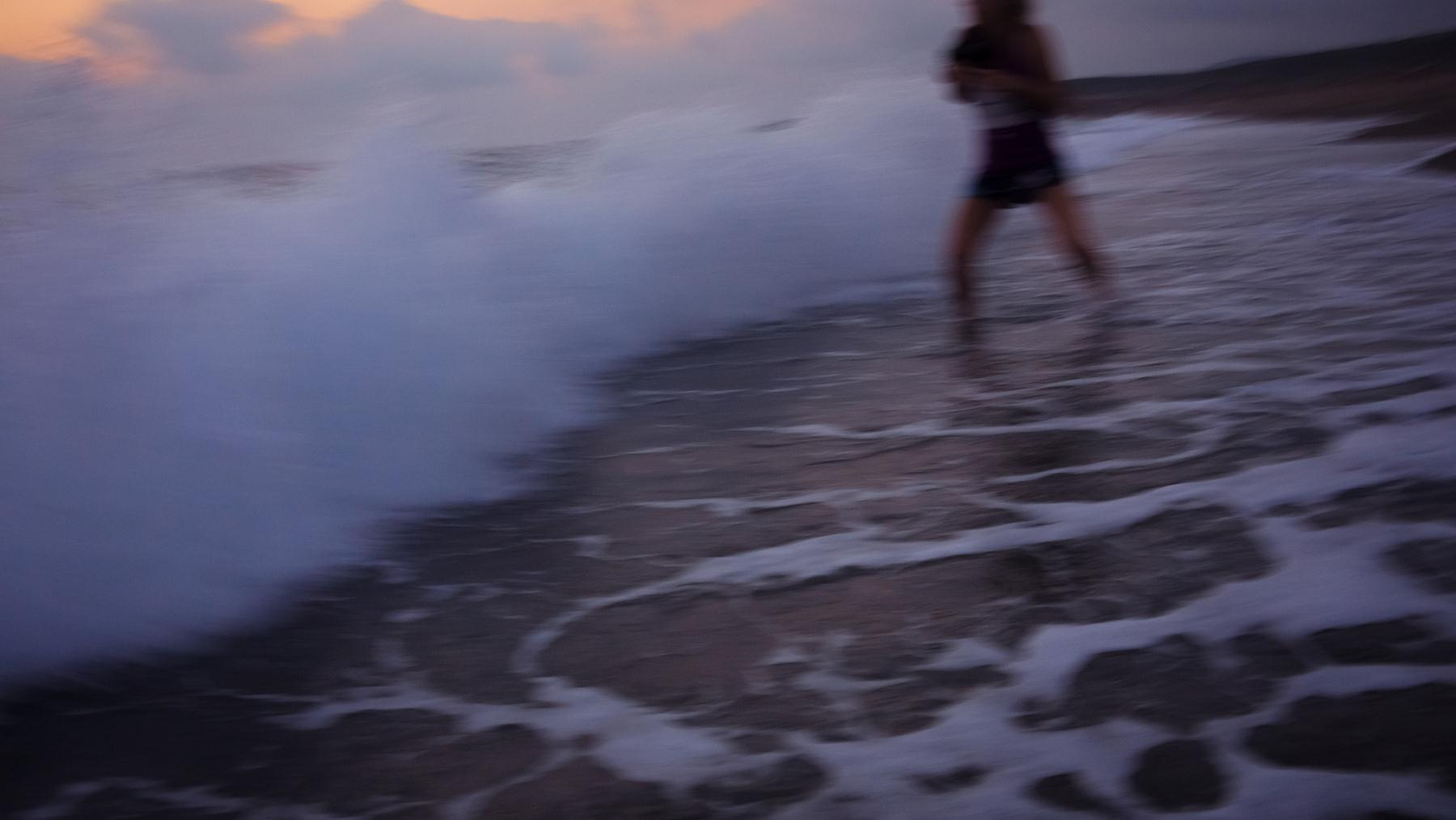Еще секунда и волна сыграла со мной!