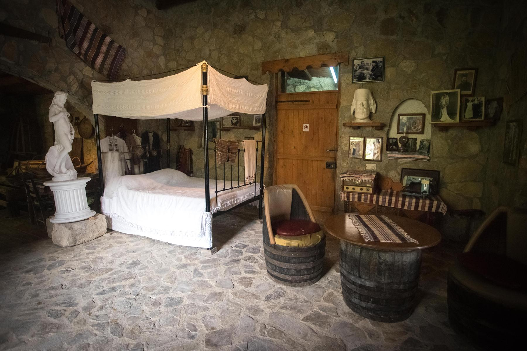 Спальня в доме-музее