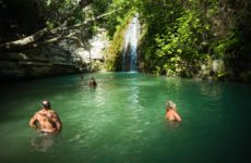 Купальня Адониса— прохладная свежесть с водопадом