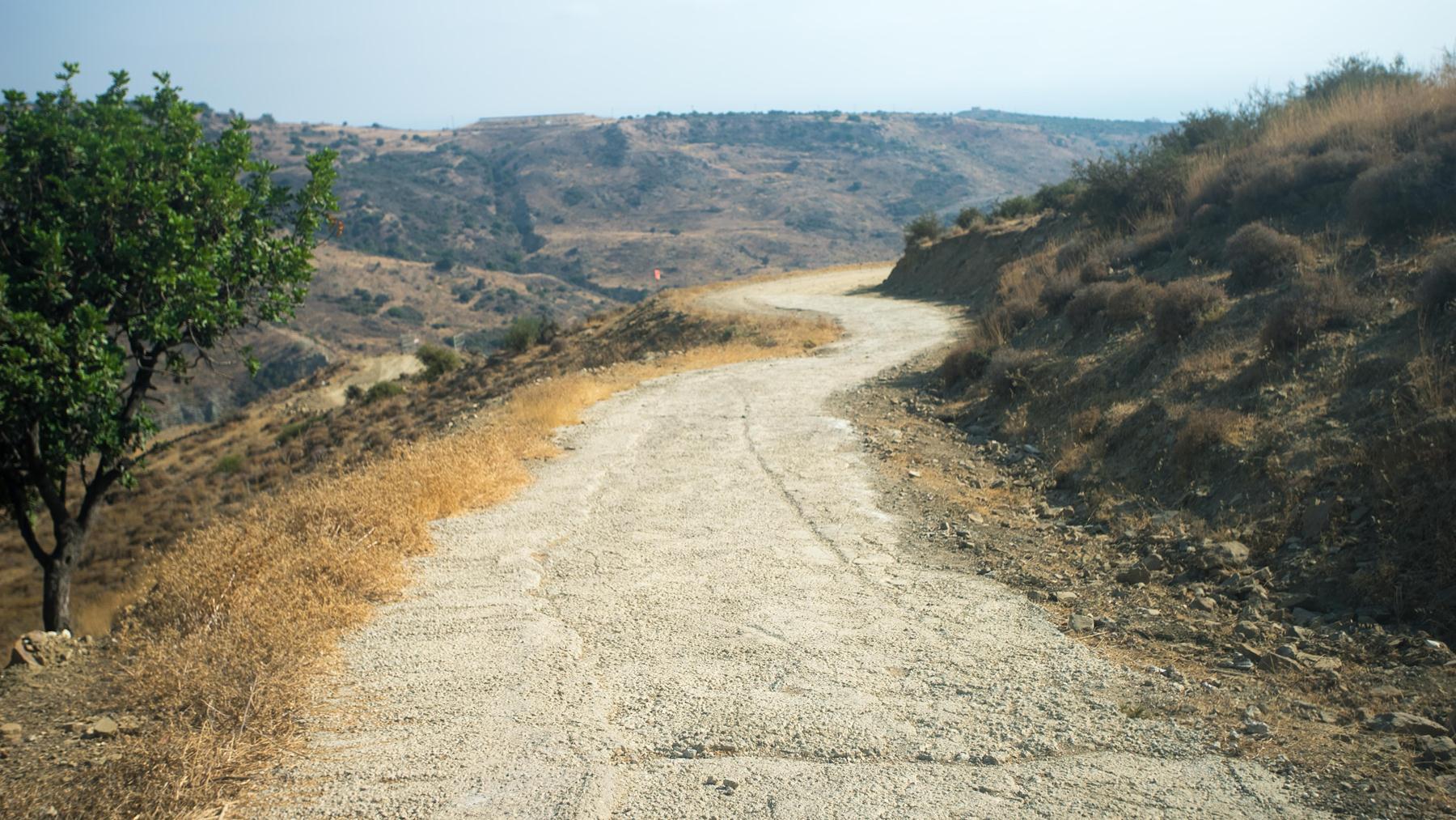 Извилистая, но не опасная дорога
