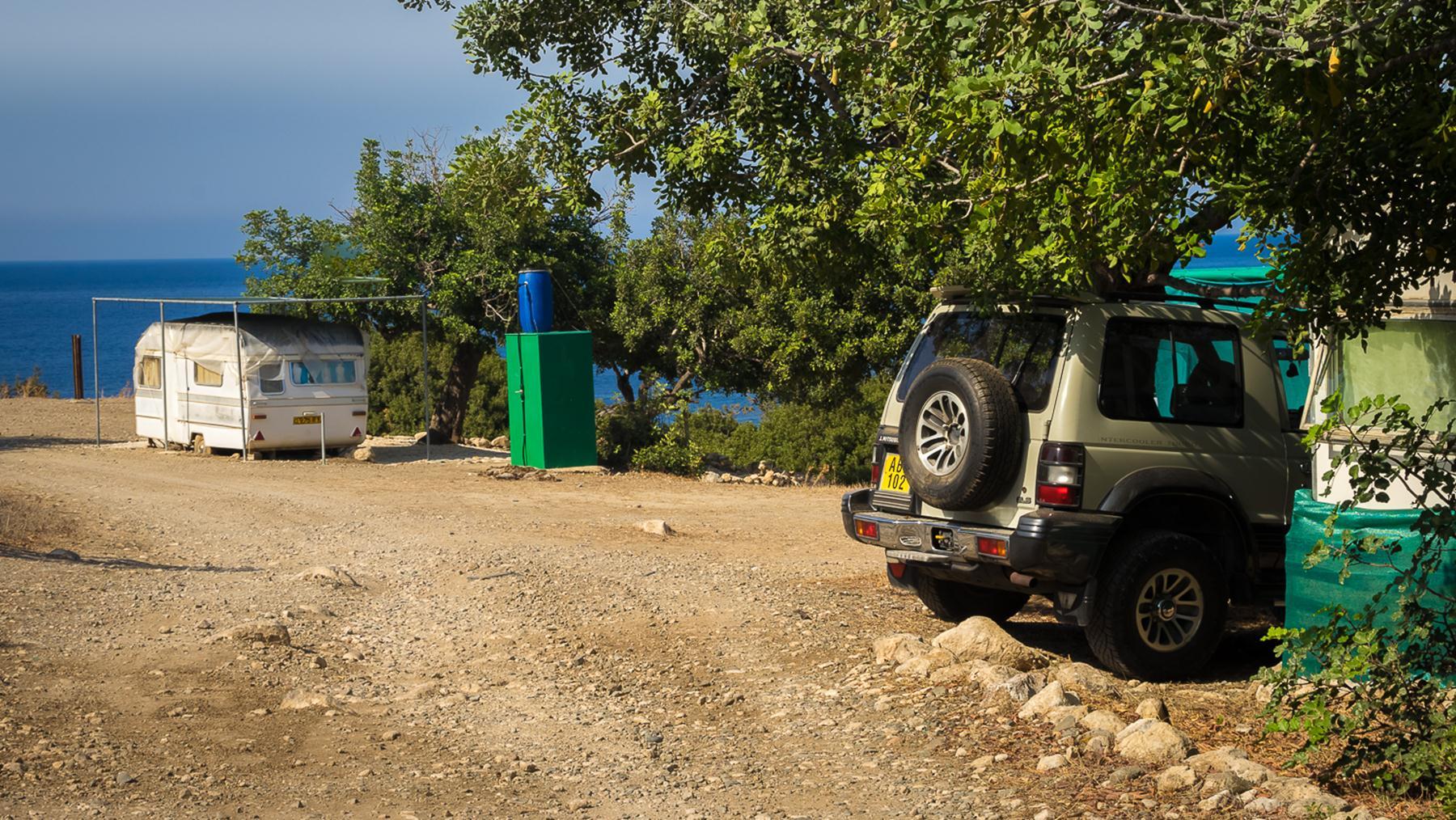 Дома на колесах на Акамасе