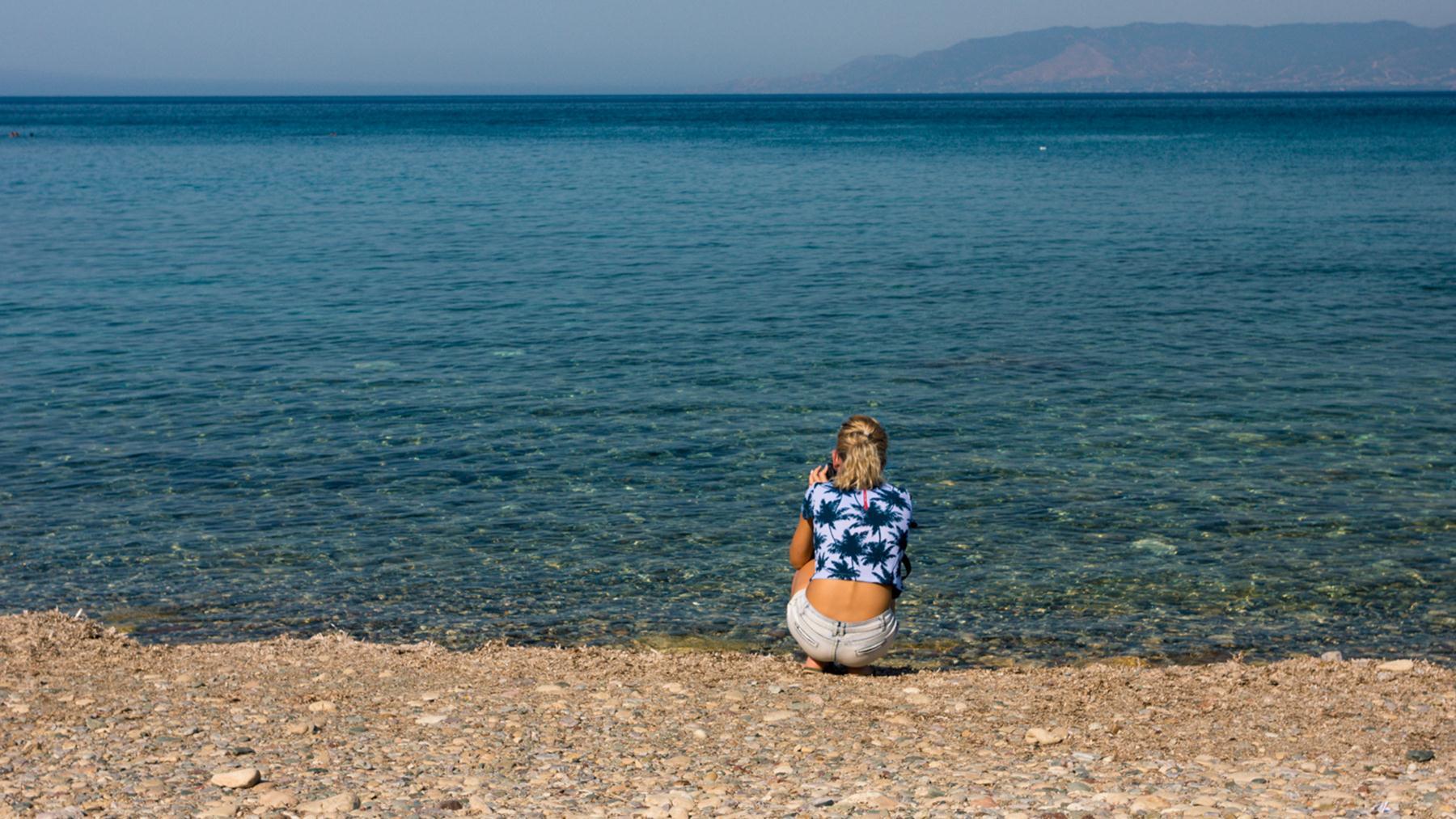 Фото пляжа Акамаса на память от lisaolyya