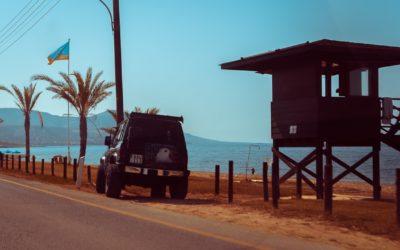 Пляж в деревне Лачи